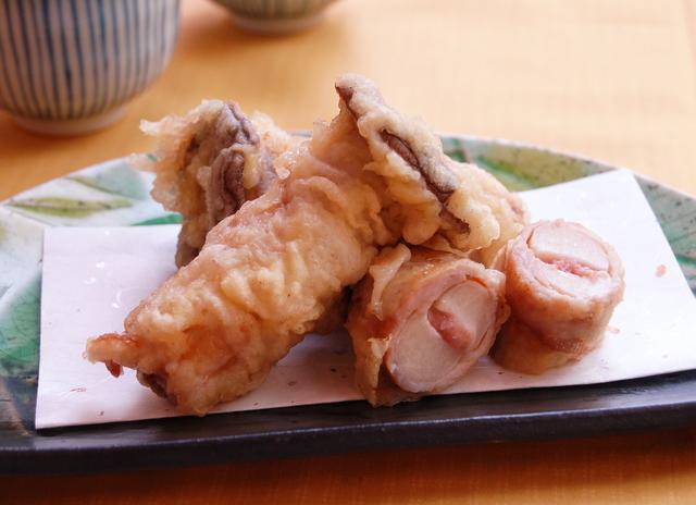 【レシピ】ヘルシーな天ぷら「エリンギの豚肉巻き 梅風味揚げ」