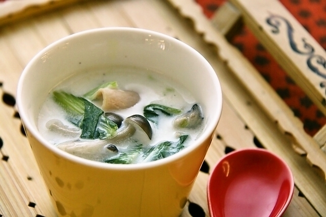 牛乳 スープ