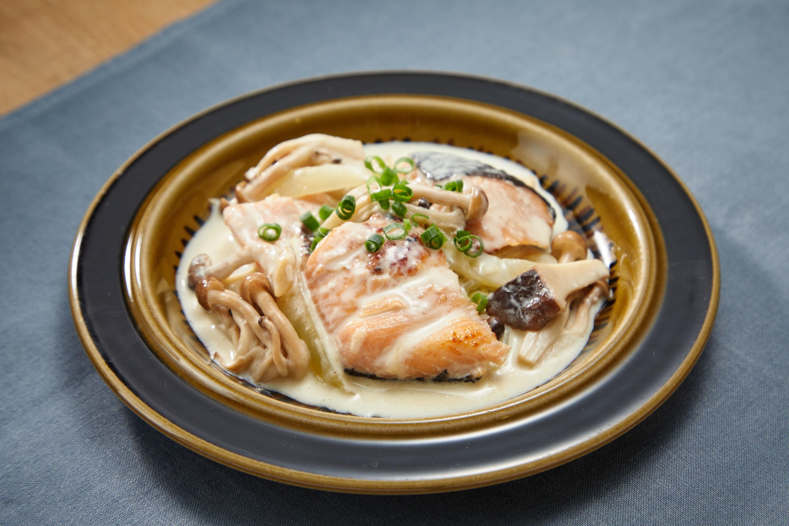 鮭 クリーム 煮