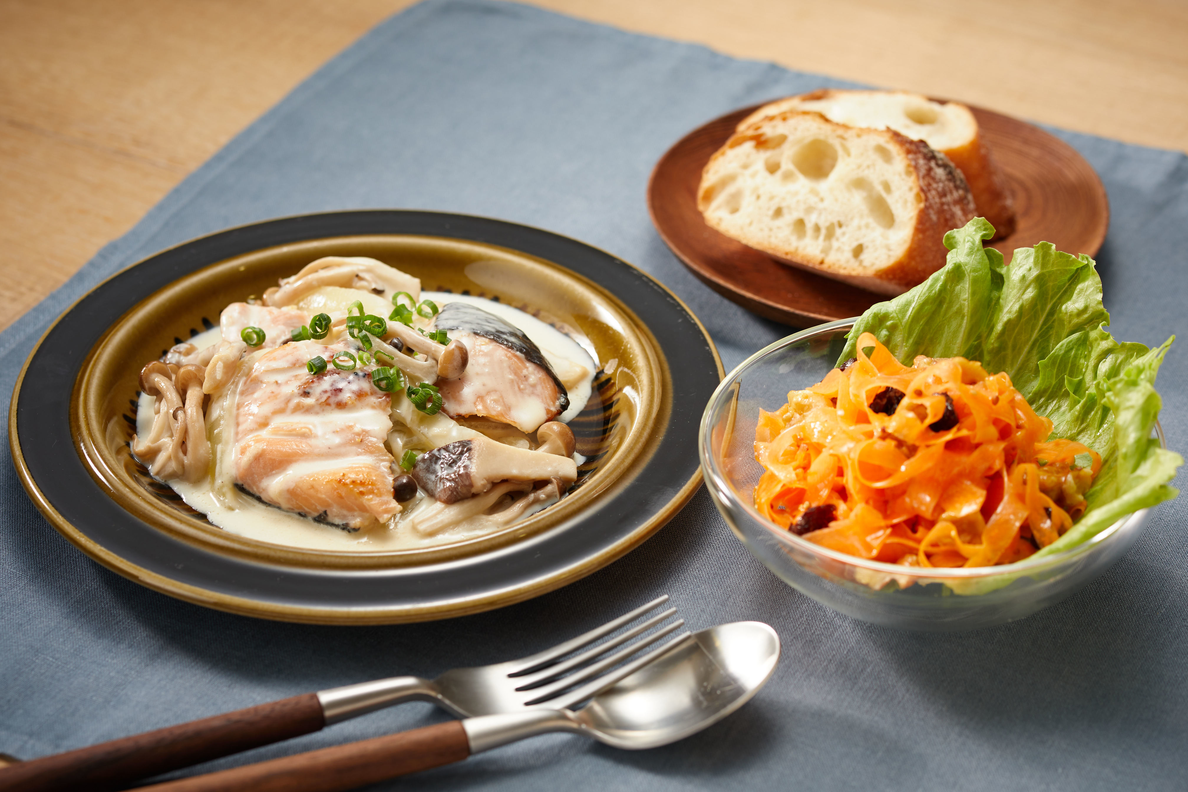 クリーム 煮 鮭 フライパン一つで簡単 白菜と鮭のクリーム煮
