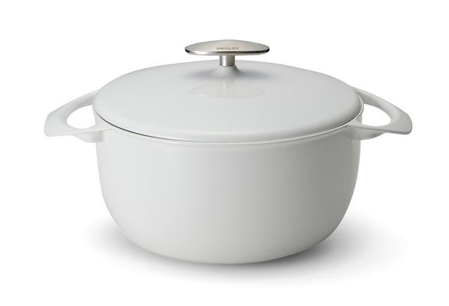 UNILLOY・「鋳物ホーロー鍋キャセロール」