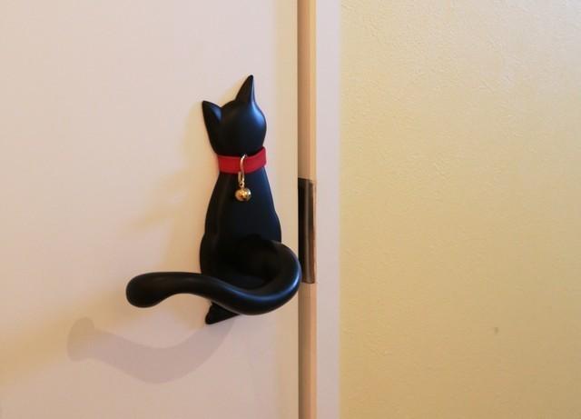 猫のしっぽのレバーハンドル