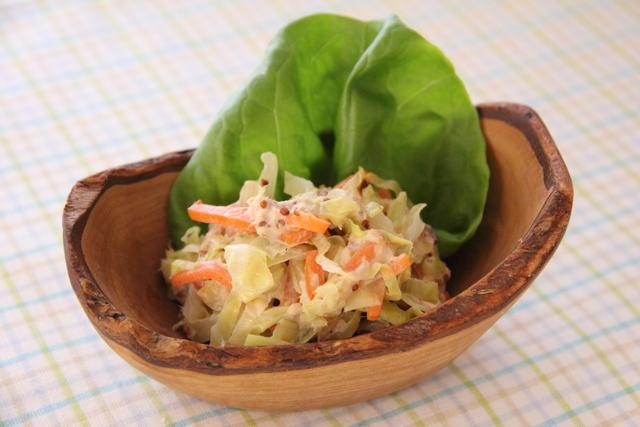 春きゃべつとツナマヨのサラダ