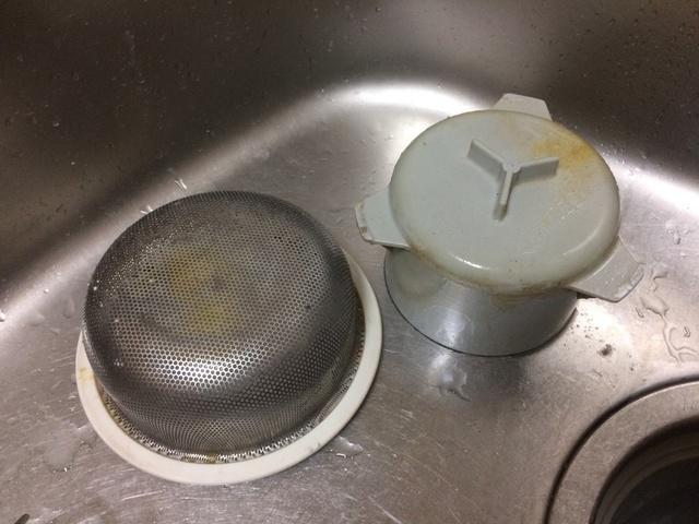 排水口の汚れ