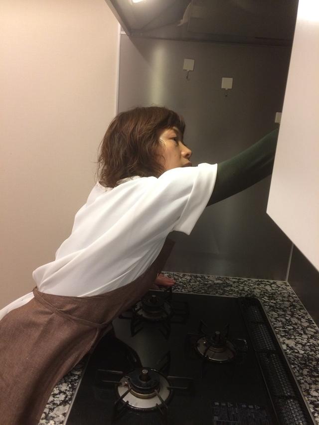 壁面パネルの掃除