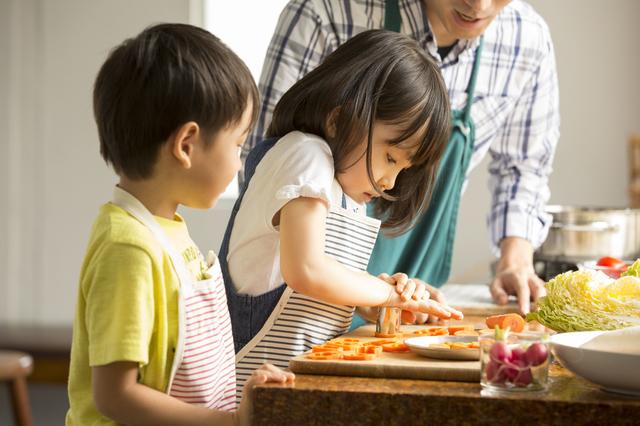 子どもと料理する