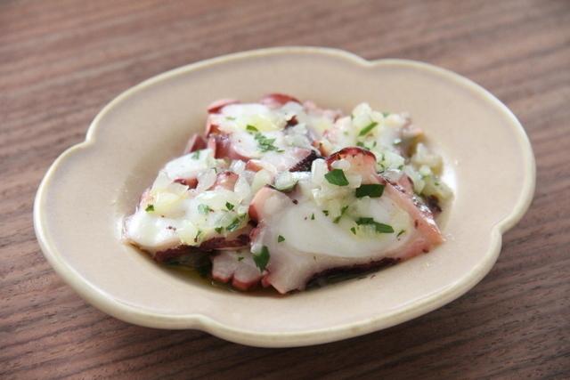 タコのガリシア風サラダ