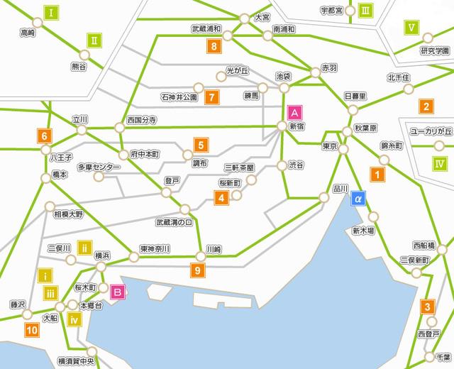 Retina map
