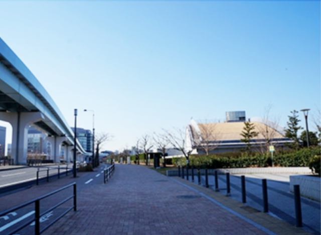 豊洲駅からのアクセス