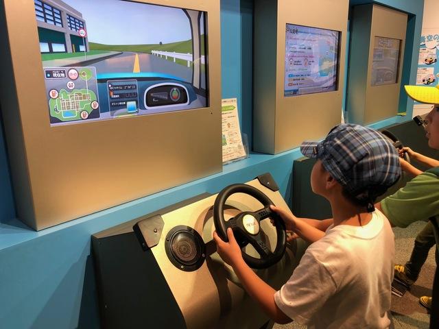 車運転シミュレーション