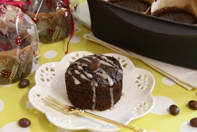 プラリネコーヒーチョコケーキ