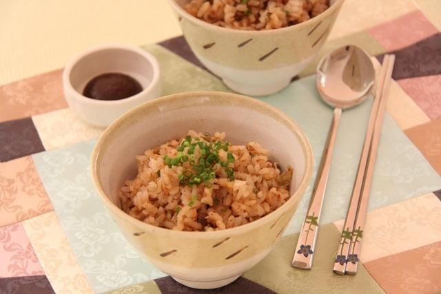 キムチの炊き込みご飯