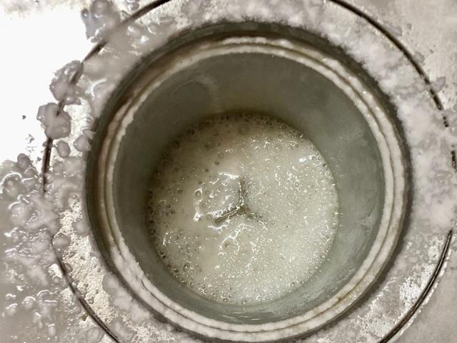 排水口の掃除
