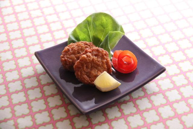 タイ風根菜のさつま揚げ