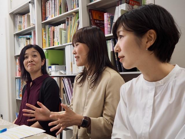 濱田 仁美さん、赤石 記子さん、清水 幸さん