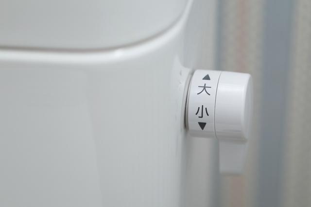 トイレの洗浄レバー