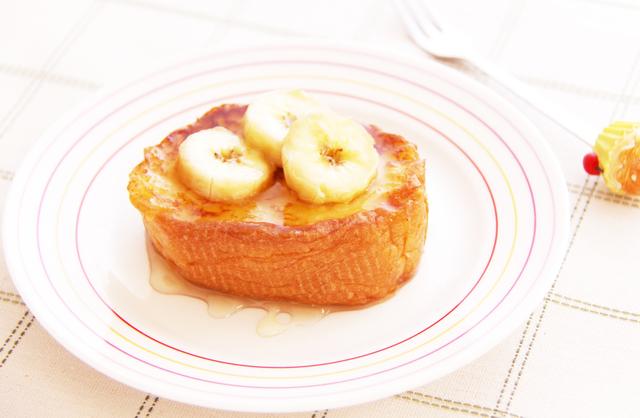 「バナナフレンチトースト」