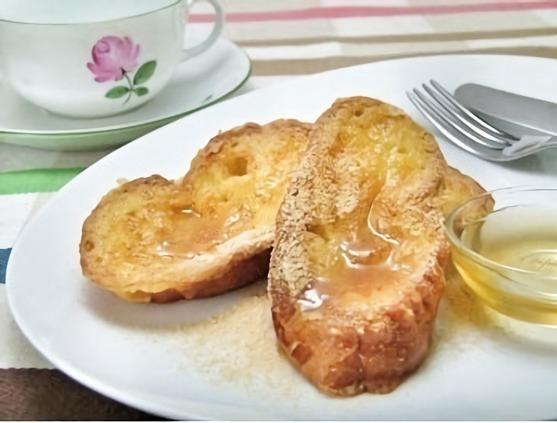 「豆乳のフレンチトースト」