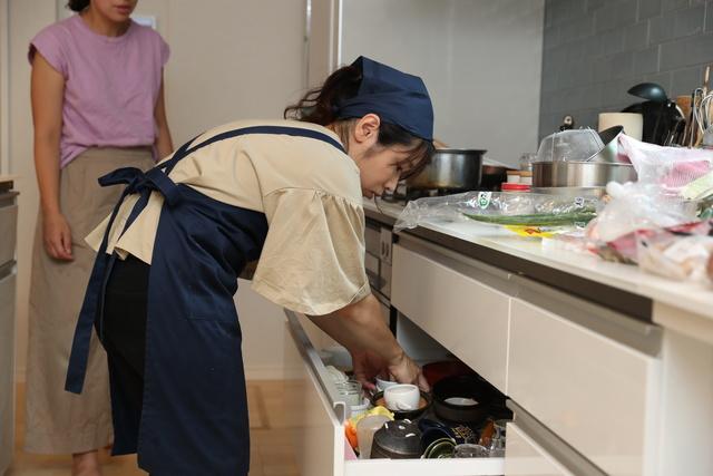 調理道具のチェック