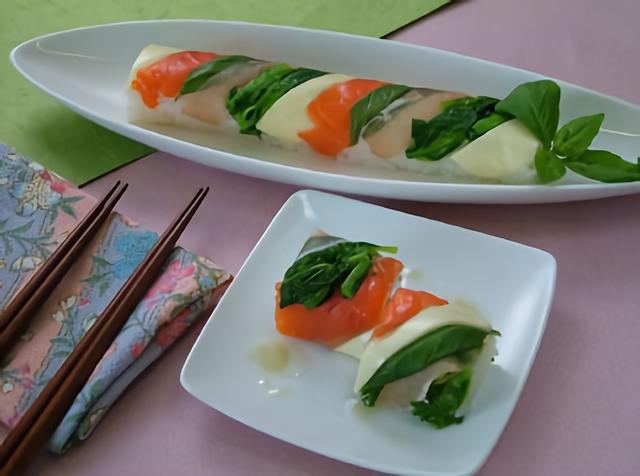 洋風手綱寿司~柚子胡椒ソース添え~