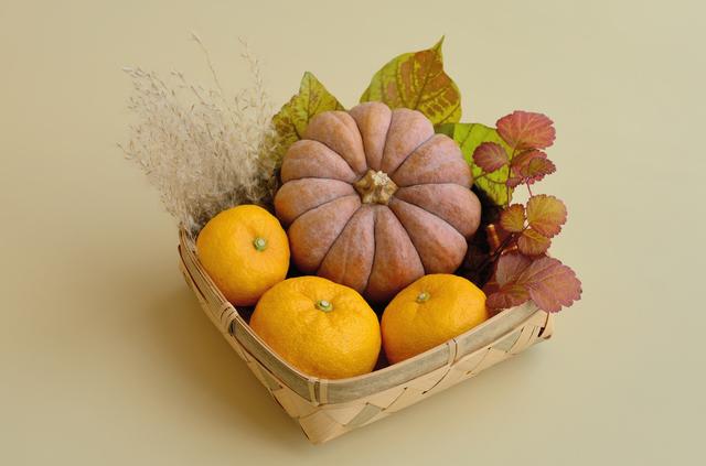 ゆずとかぼちゃ