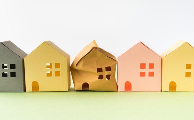 紙で作った家