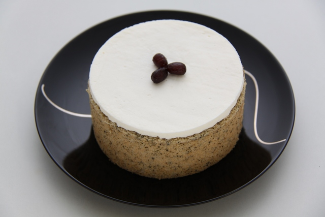 ほうじ茶のミルキーケーキ