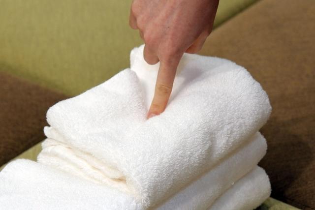 タオルの仕上がりの柔らかさ