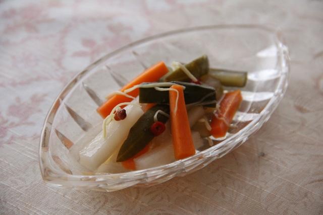 山椒風味のピクルス