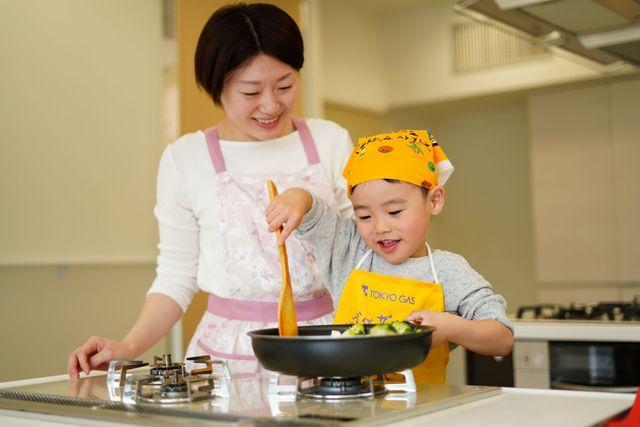親子で料理を楽しむコツ