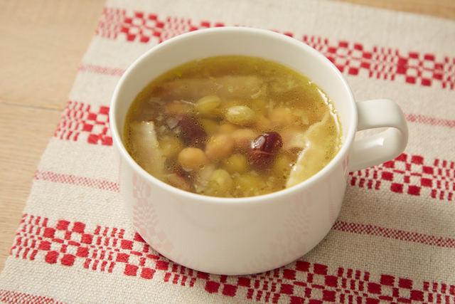 ミックスビーンズスープ