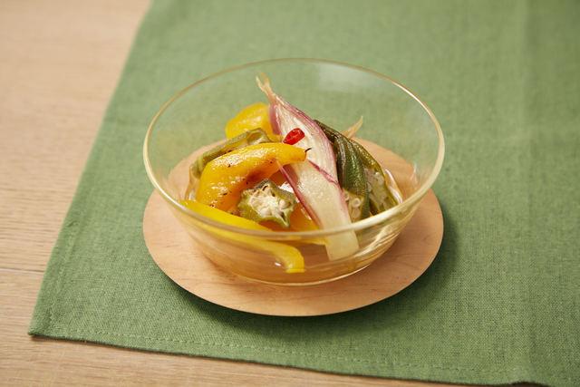 グリル野菜のマリネ