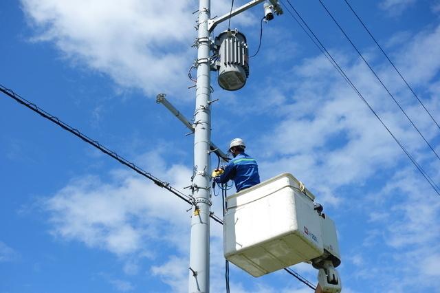 電柱の整備