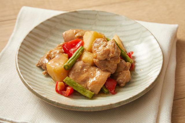 鶏肉と長芋のさっぱり煮