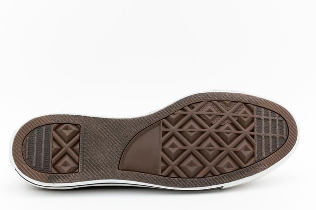 ゴム底の靴