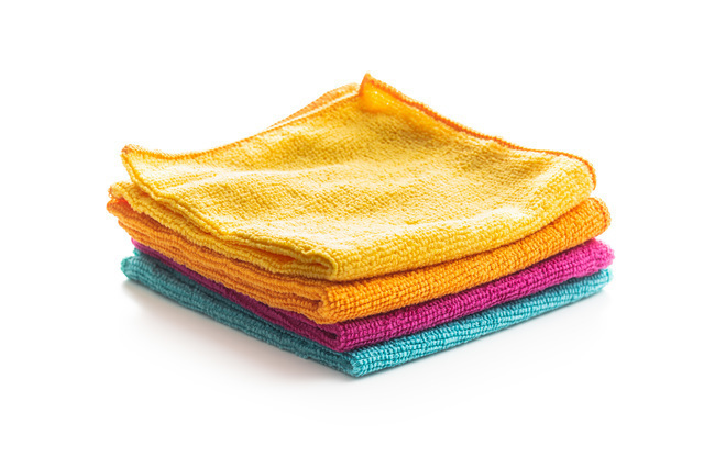 マイクロファイバー雑巾