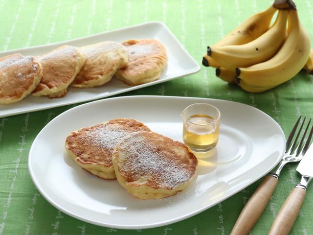 バナナヨーグルトパンケーキ