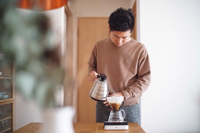 ドリップコーヒーを入れる