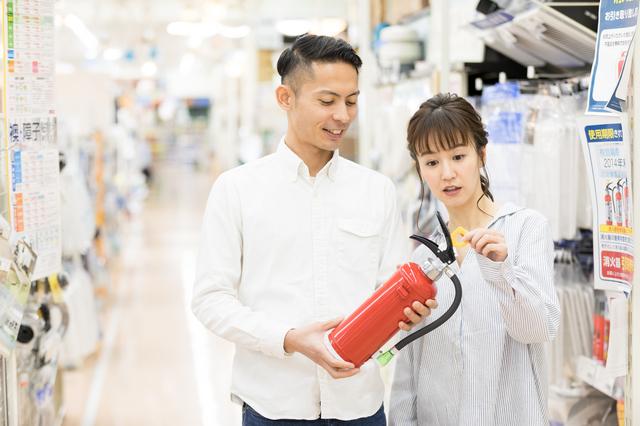 消化器を購入する人