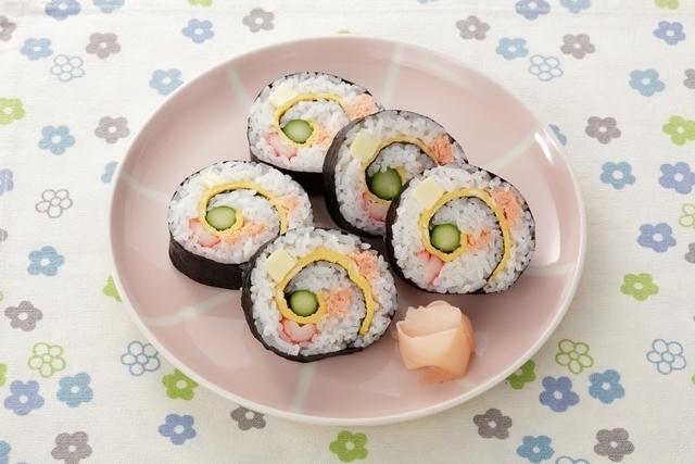「くるくる巻き寿司」