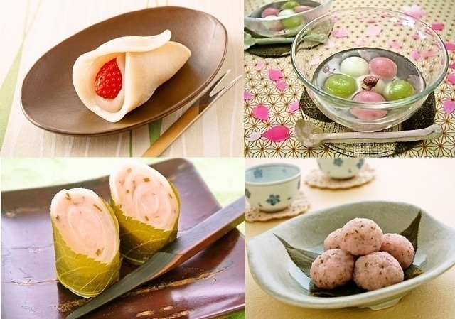 「ひな祭り【スイーツ】レシピ」