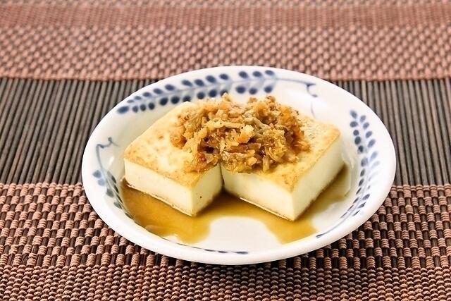 「豆腐の旨味だれ」