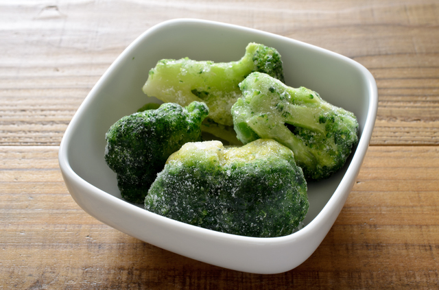 冷凍したブロッコリー
