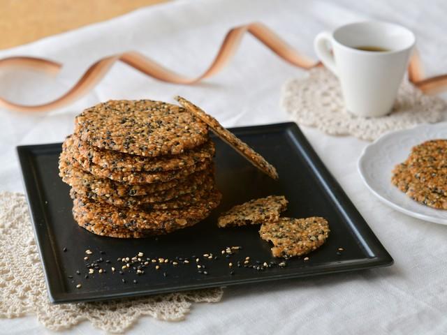 オートミールセサミクッキー