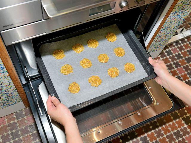 ガス高速オーブンで焼く
