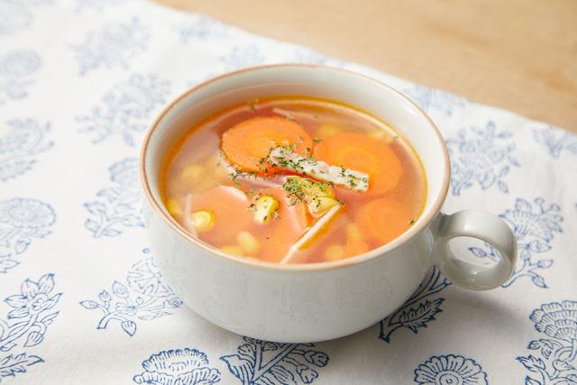 春にんじんのスープ