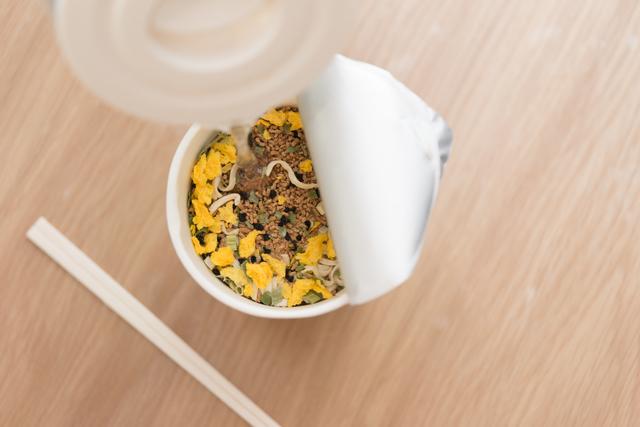 防災食としても使えるカップ麺
