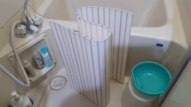 お風呂を掃除するところ