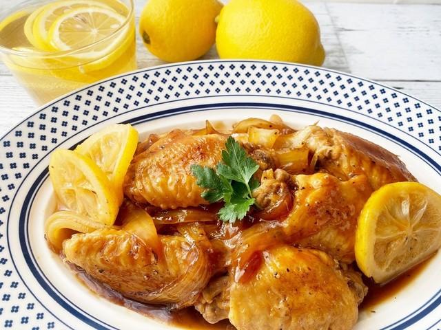 鶏肉とレモン酢煮