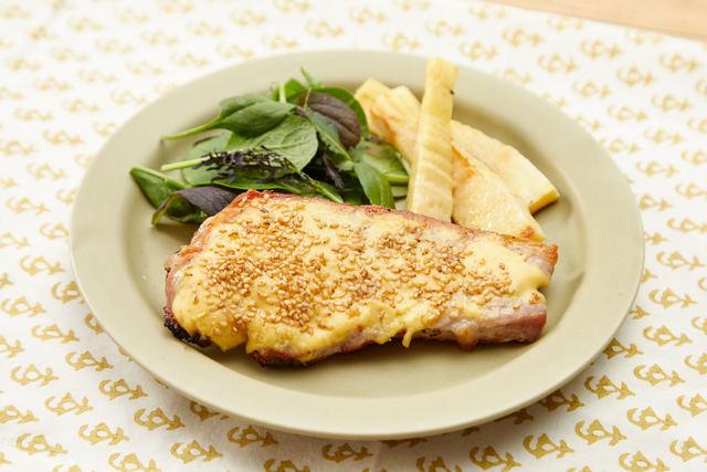 豚肉のセサミマヨグリル